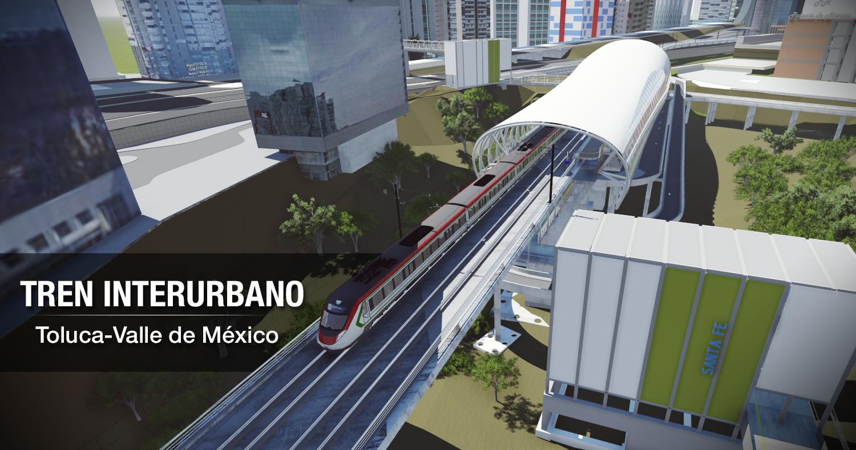 Trabajamos en la construcción del Tren interurbano Ciudad de México – Toluca